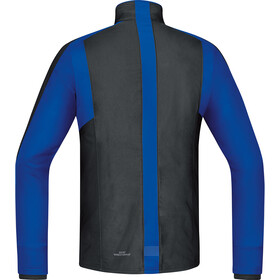 GORE RUNNING WEAR Air GWS Shirt Long Herr black/brilliant blue